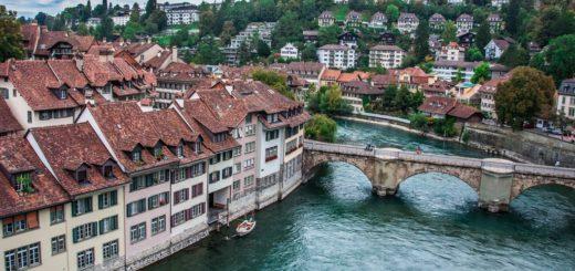Krásná místa ve Švýcarsku