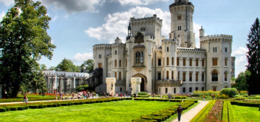 Hluboká nad Vltavou je skvělým místem pro rodinnou dovolenou